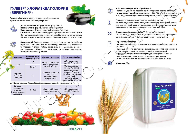 Гуливер - аналог Хлормекват-хлорид описание